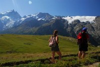 mountain walking holiday france alps